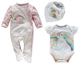 My Little Pony Pink 3 Piece Baby Gift Set – 0–3 Months