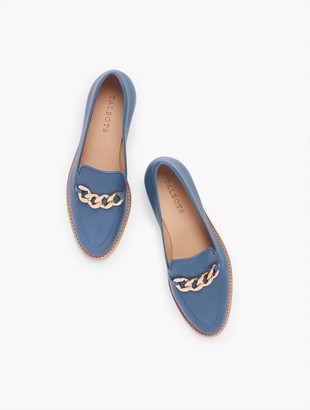 Talbots Leighton Chainlink Nappa Loafers