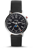Fossil Special Edition Stargazer Citizen 6P80 Black Leather Watch