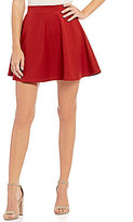 Freestyle Seamed Ponte Skater Skirt