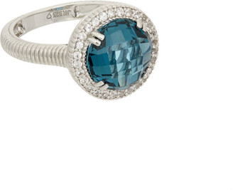 Judith Ripka Legacy Silver 0.28 Ct. Tw. Sapphire & Spinel Ring