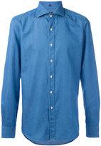 Fay slim-fit denim shirt