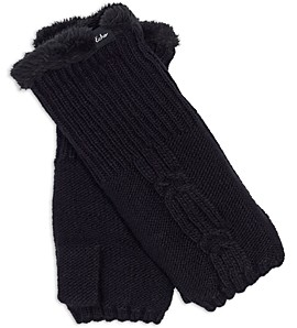 Echo Cable Knit Fingerless Gloves - 100% Exclusive