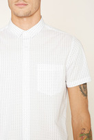 Forever 21 Collared Button-Front Shirt