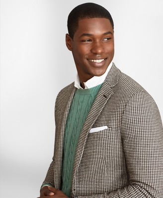 Brooks Brothers Regent Fit Houndstooth Sport Coat