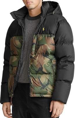 Polo Ralph Lauren Camo-Print Down Jacket