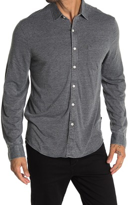 Indigo Star Rochambeau Knit Tailored Fit Shirt