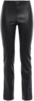 Vince Stretch-leather Slim-leg Pants