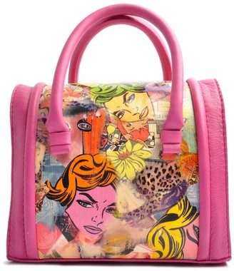 Ostwald Finest Couture Bags Case Medium Tote In Fuchsia
