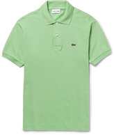 Lacoste Cotton-piqué Polo Shirt - Green