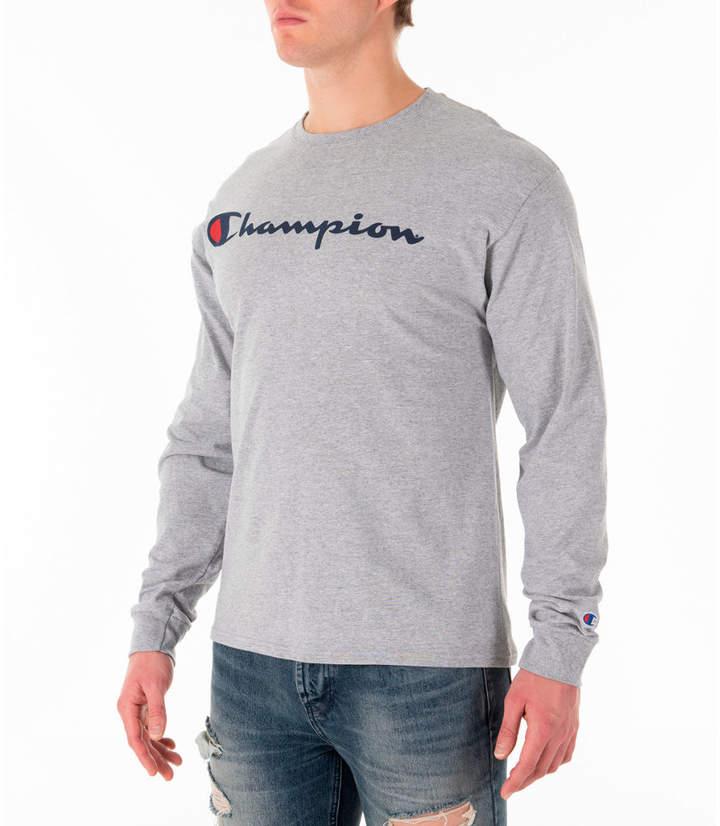 ed3d9ec57 Mens Soft Grey Long Sleeve Shirt - ShopStyle
