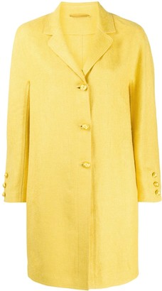Ermanno Scervino Buttoned Cocoon Coat