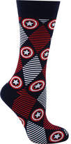 Cufflinks Inc. Captain America Argyle Stripe Sock