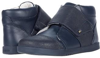 Bobux Boston Hi Top (Toddler/Little Kid) (Navy) Kid's Shoes