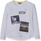 Tommy Hilfiger Girl's Photoprint CN Knit L/S Jumper