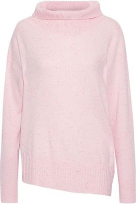Duffy Asymmetric Cashmere Turtleneck Sweater