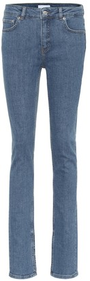 Ganni Mid-rise skinny jeans