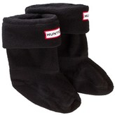 Hunter Kids Boot Sock Black