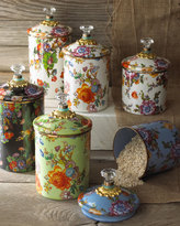 Mackenzie Childs MacKenzie-Childs Small Flower Market Canister