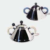 Alessi italian design 9097 Sugar Bowl With Spoon