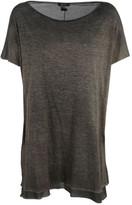 Avant Toi Layered Hem T-shirt