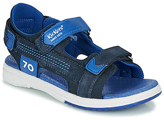 Kickers PLANE boys's Sandals in Blue