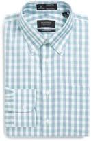 Nordstrom Smartcare TM Wrinkle Free Traditional Fit Plaid Check Dress Shirt