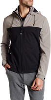 Kenneth Cole New York Colorblock Zip Front Jacket