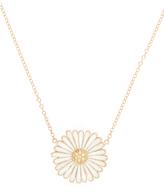 Alison Lou Diamond, enamel & yellow-gold Daisy necklace