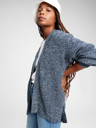 Gap Shaker Side-Split Cardigan