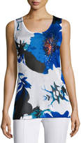 Berek Lapis of Luxury Floral Tank, Petite