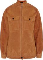 Joseph Nelville suede jacket