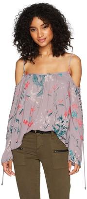 Roxy Women's Paradise Ocean Printed Top