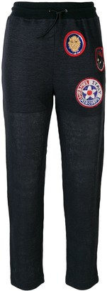 Mr & Mrs Italy Patched Slim Trousers