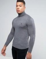 Religion Merino Roll Neck Sweater