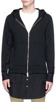 John Undercover Johnundercover Shirt underlay zip hoodie