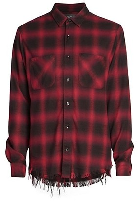 Amiri Core Shadow Plaid Shirt