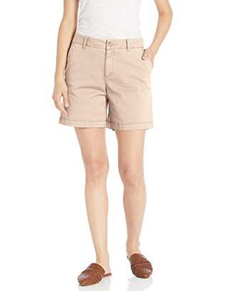 Goodthreads Chino Girlfriend Short Casual, Dusty Olive, 8