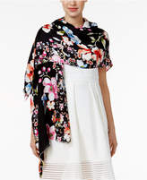 INC International Concepts Butterfly Garden Wrap & Scarf in One, Only at Macy's