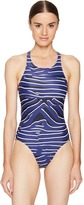 adidas by Stella McCartney Zebra Swimsuit BQ0747 Women's Swimsuits One Piece