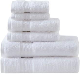 Madison Home USA Signature Luxor Egyptian Cotton 6-piece Bath Towel Set