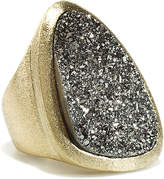 Rivka Friedman 18K Clad Druzy Ring