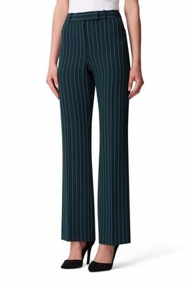 Tahari ASL Women's Pin Stripe Stretch Trouser Pant