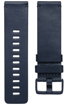 Fitbit Versa Midnight Blue Horween Leather Accessory Band