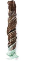 Hairdo. by Jessica Simpson & Ken Paves Chestnut & Light Green Wavy Ponytail Hair Extension