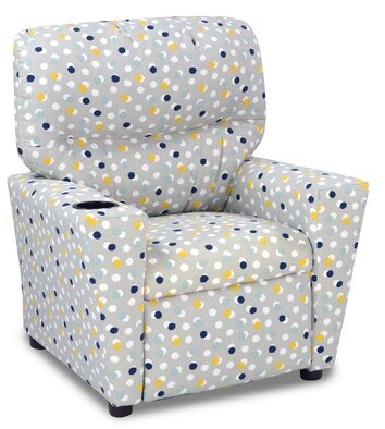 Isa Belle Isabelle & Max Larrick Recliner Kids Chair with Cup Holder Isabelle & Max