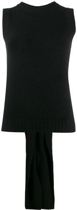 Prada Bow Detail Knitted Top