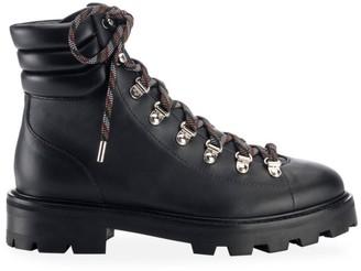 Jimmy Choo Eshe Leather Hiking Boots