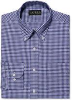 Lauren Ralph Lauren Non-Iron Lilac Multi-Plaid Dress Shirt