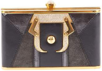 Paula Cademartori Black Leather Clutch bags